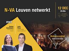 N-VA Leuven netwerkt 12 dec