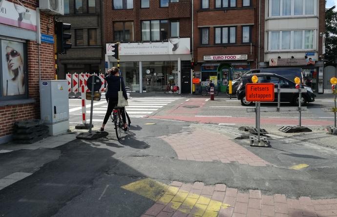N-VA Leuven vraagt meer verkeersveiligheid ter hoogte van de Martelarenlaan