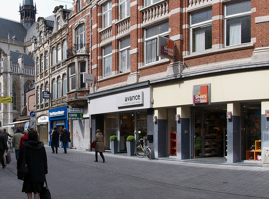 Vlaamse regering investeert 142.000 in Leuvense handelskern